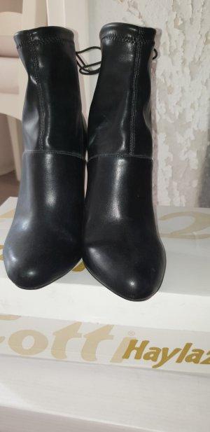 Zara Stivale a gamba corta nero