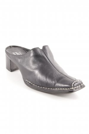 Heel Pantolettes black casual look