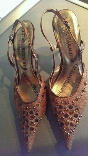 Absatz Schuhe Designer heels Luciano Barachini Vintage neu