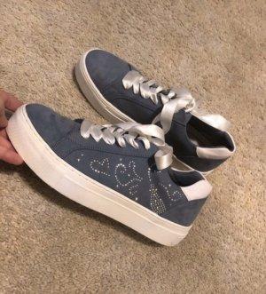 Marco Tozzi Sneaker stringata grigio ardesia-bianco