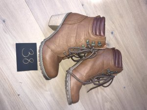 0039 Italy Heel Boots multicolored