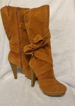 High Heel Boots camel