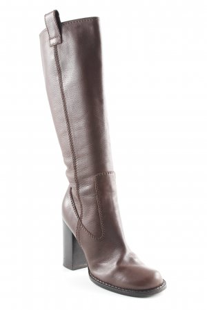 Heel Boots brown simple style
