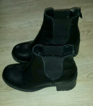 Deichmann Korte laarzen zwart