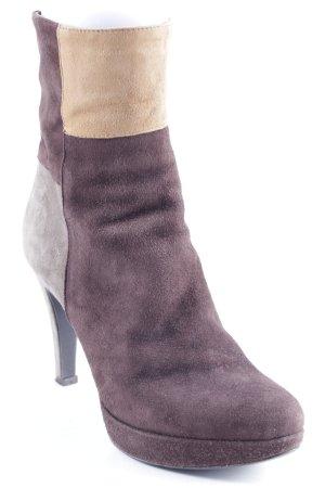 Absatz Stiefel mehrfarbig Elegant