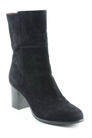 Absatz Stiefel schwarz Elegant