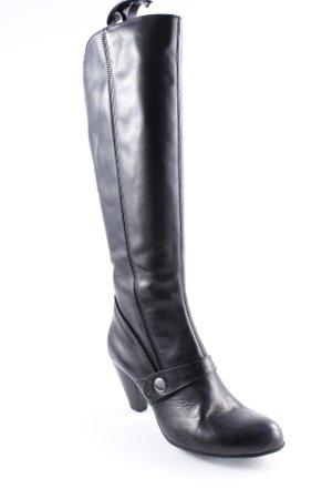 Absatz Stiefel schwarz schlichter Stil
