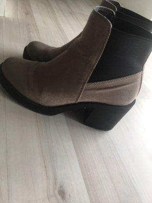 H&M Chelsea laarzen grijs-zwart