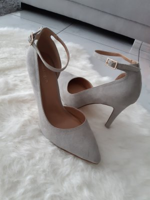 Anna Field Pointed Toe Pumps light grey