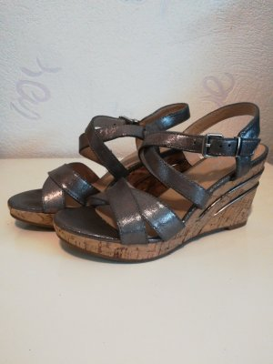 Graceland High-Heeled Sandals silver-colored