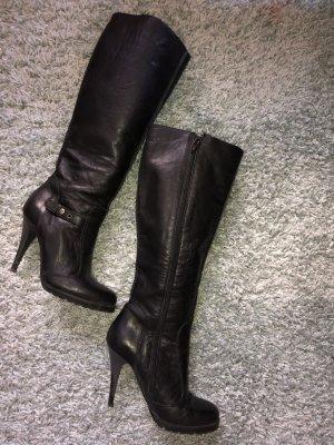 Miss Sixty Negro Black Botines High Botas Botas Talla 39 Ropa, Calzado Y Complementos Botas