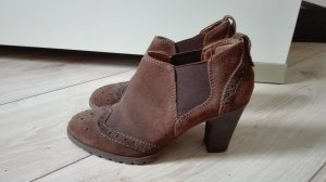 5th Avenue Slip-on Booties multicolored leather