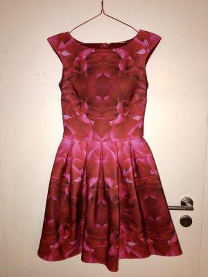 Petticoat Dress raspberry-red-dark red