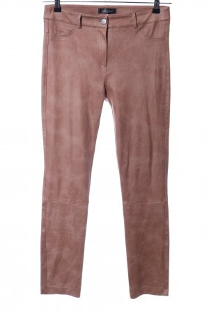 Absolu Paris Stretch Trousers brown casual look