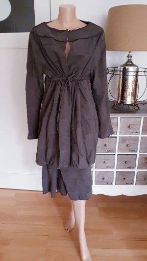 ABSOLUT Tailleur marrone-grigio