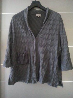 Absolut by Zebra, Größe 40/42, grau, Cardigan, Pullover