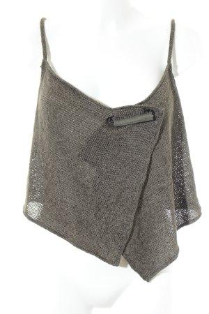 Absolut by Zebra Smanicato lavorato a maglia cachi stile casual