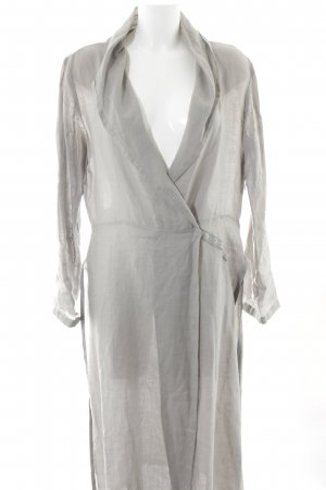 ABSOLUT Longsleeve Dress grey beach look