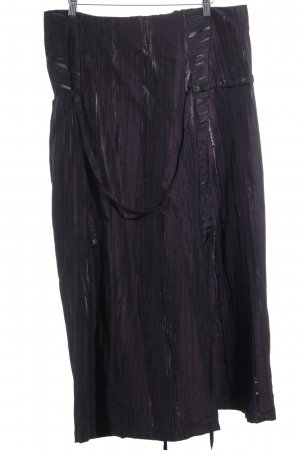 ABSOLUT Maxi Skirt dark violet casual look