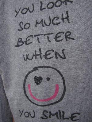 Barbara Becker Knitted Sweater grey-light grey