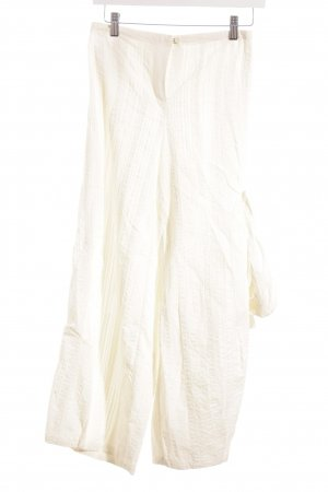 ABSOLUT Pantalone jersey beige chiaro stile stravagante