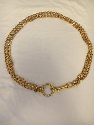 Cinturón de cadena color oro