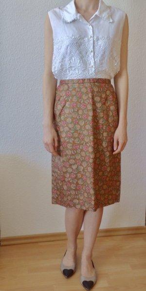 Absoluter Vintagetraum! Vintagerock aus den 40er Jahren mit Blumenprint