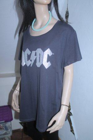AC/DC * lässiges Band-Shirt * Glitzer * Oversize * Gr. XL *