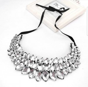 Accesories : Fashion Silver Necklace