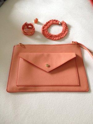 Accessoire-Set in Apricot