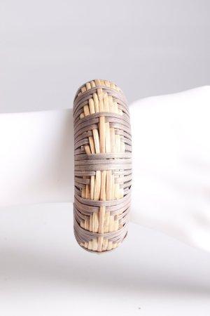 Accessorize Armreif aus Holz geflochten