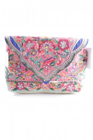 Accessorize Clutch Blumenmuster Casual-Look
