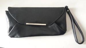 Accessorize Clutch schwarz Handtasche kleine Tasche