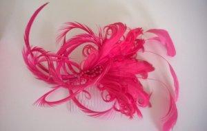 Accessorize Fascinator - Federschmuck fürs Haar pink Hochsteckfrisur