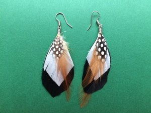 Accessorize Feather Earrings
