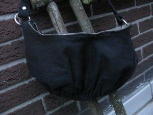 Accessorize Crossbody bag black cotton