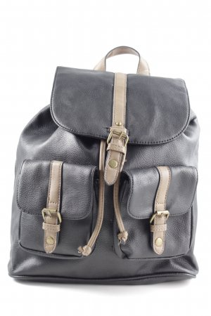Accessorize Laptop Backpack black-natural white casual look