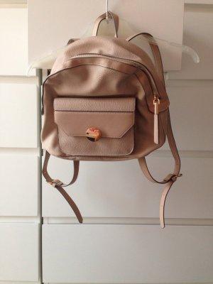 Accessorize Backpack oatmeal-beige imitation leather