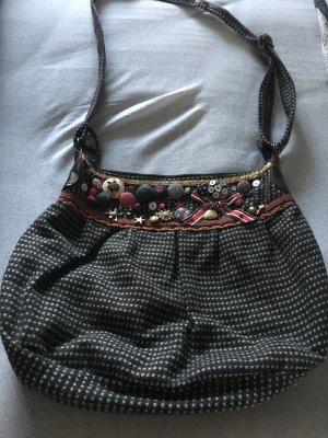 Accessorize Handtas donkerblauw