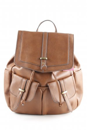 Accessorize Mochila escolar coñac look casual