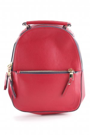 Accessorize School Backpack red elegant