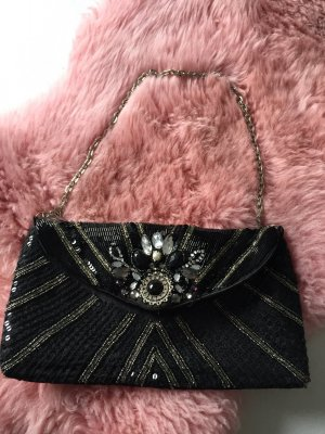 Accessorize Tasche Clutch Perlen Silvester Party