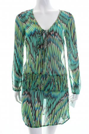 Accessorize Tunic Blouse abstract pattern beach look