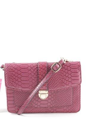 Accessorize Sac bandoulière rose motif animal style décontracté