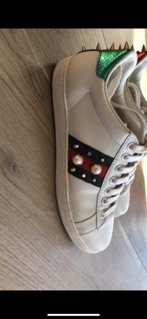 Ace Sneaker aus Leder mit Nieten