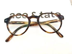 Ace & Tate Occhiale stile retro marrone
