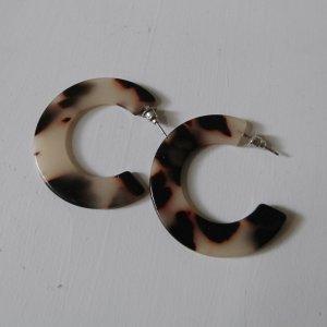 Acetat Schildplatt Ohrringe Creolen