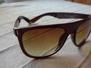 Acetat Sonnenbrille mit Metallbügeln