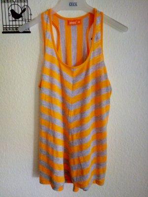 Sports Shirt grey-orange