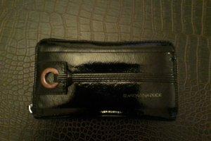 Achtung reduziert! Schwarze Geldbörse von Mandarina Duck mit Zip
